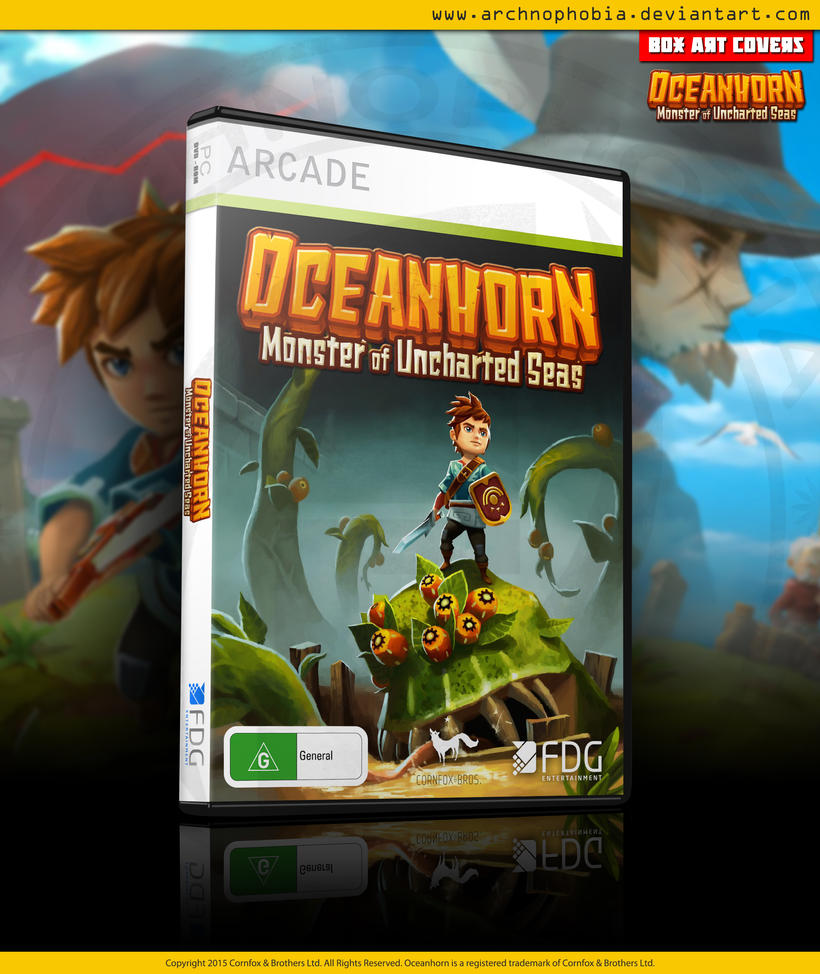 Oceanhorn: Monster Of Uncharted Seas (DVD Preview) by archnophobia