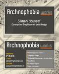 ArchnophobiA Business Card v.1