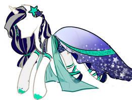 Lunar Pageant dress