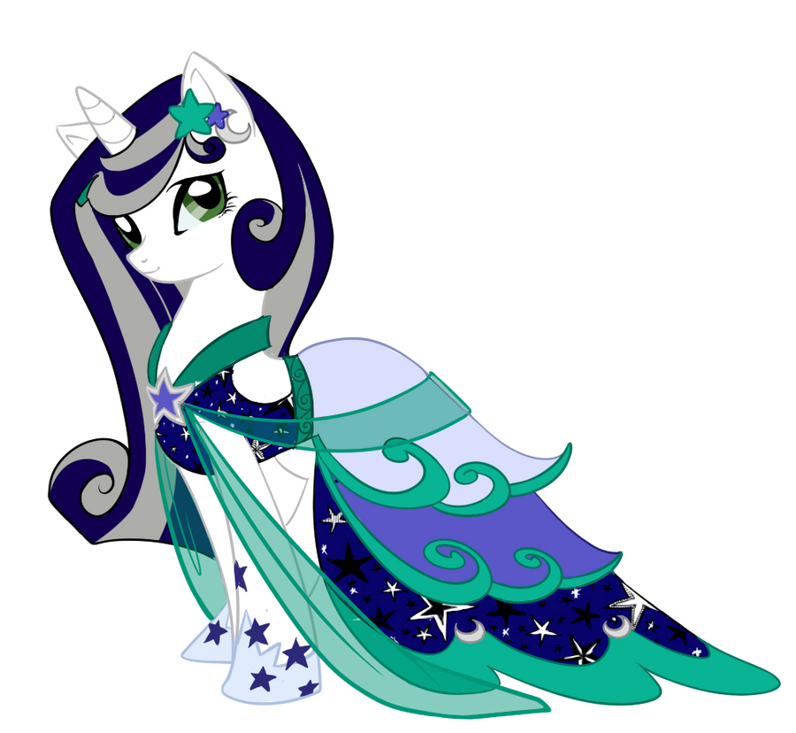 Lunar Shine Dress by ParkaPassions