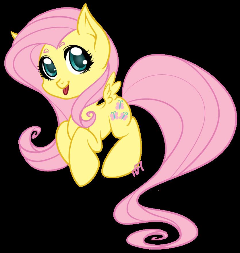 Fluttershy Chibi by Parka-Posy