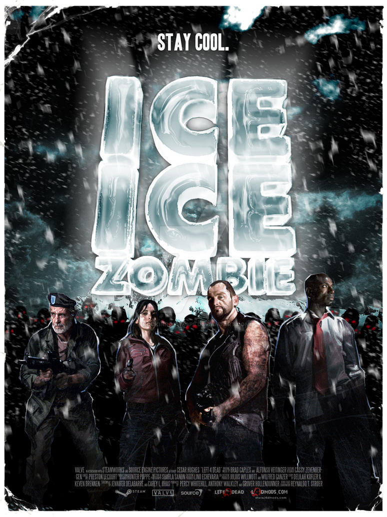 Ice Ice Zombie -Left 4 Dead- by RockinRollmops