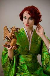 Dragon girl by venusmantrap
