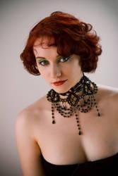 Black beads by venusmantrap