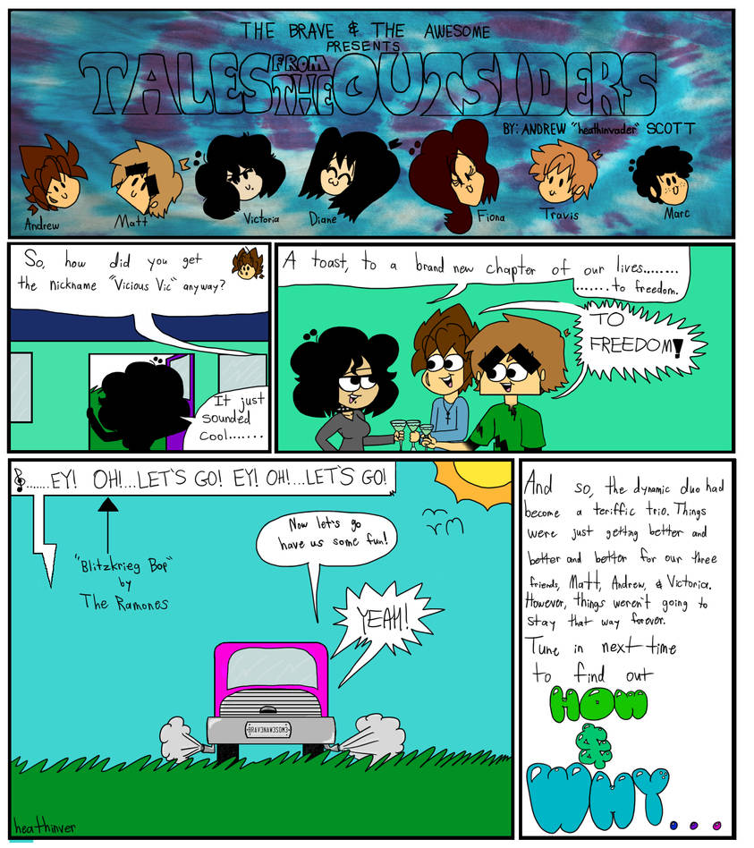 Tales From The Outsiders No 14 Exit The Dragon P07 by heathinvader