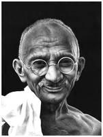 Gandhi by adamnitin