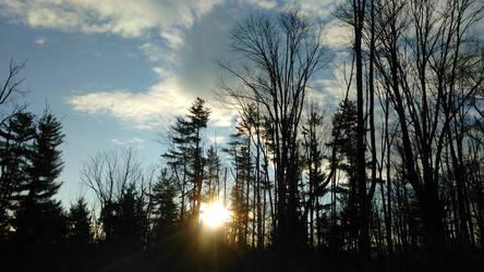 winter sunrise by DisturbedAngel017