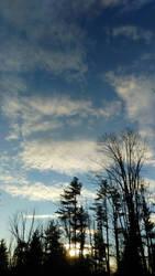 winter skies by DisturbedAngel017