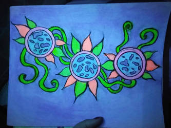 glow vibes by DisturbedAngel017