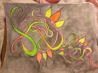 neon vibes  by DisturbedAngel017