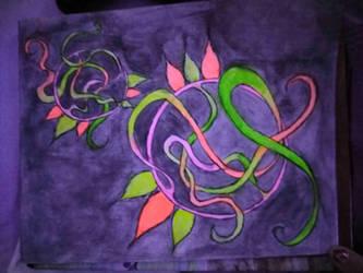 neon vibes glow by DisturbedAngel017