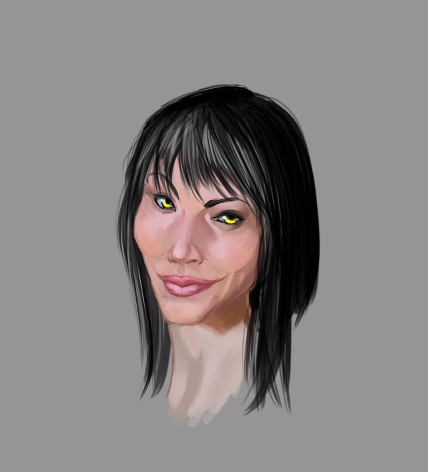 Ka-den face concept by TelempathicStudio