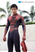 Spiderman Cosplay by Lilaeroplane