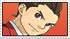 Apollo Justice Stamp by Eti-blanca