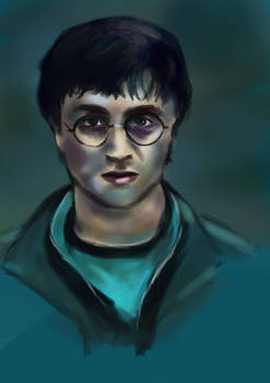 Daily sketch - Harry potter