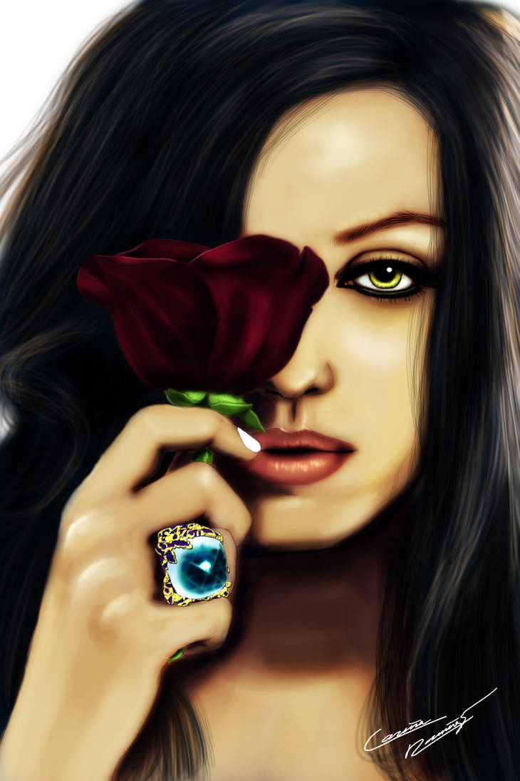 Mila Kuniz by LilArtist23
