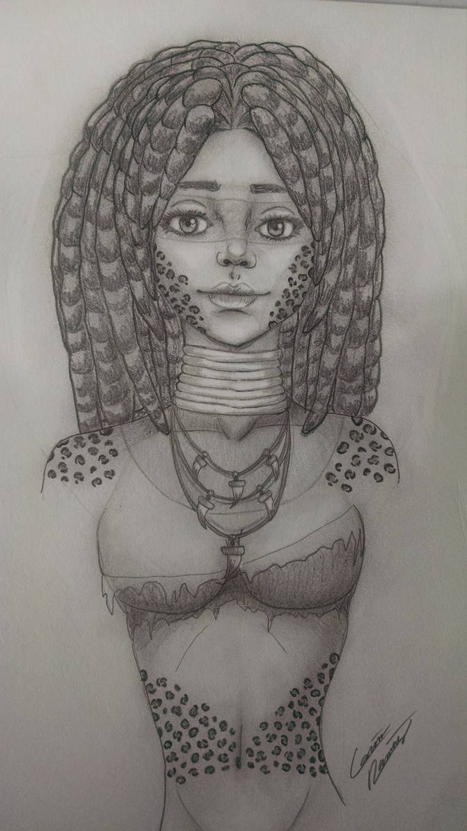 Leopard Tribal Woman