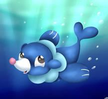 Pokemon Popplio by BlizzySnowolf