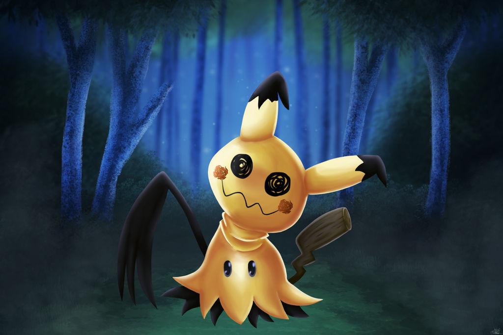 Pokemon Mimikyu by BlizzySnowolf