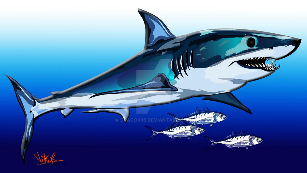MAko Shark by d...
