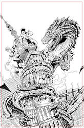 Dragon INKS by JeremiahLambertArt