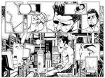 Aliens 2 pg2-3 - INKS