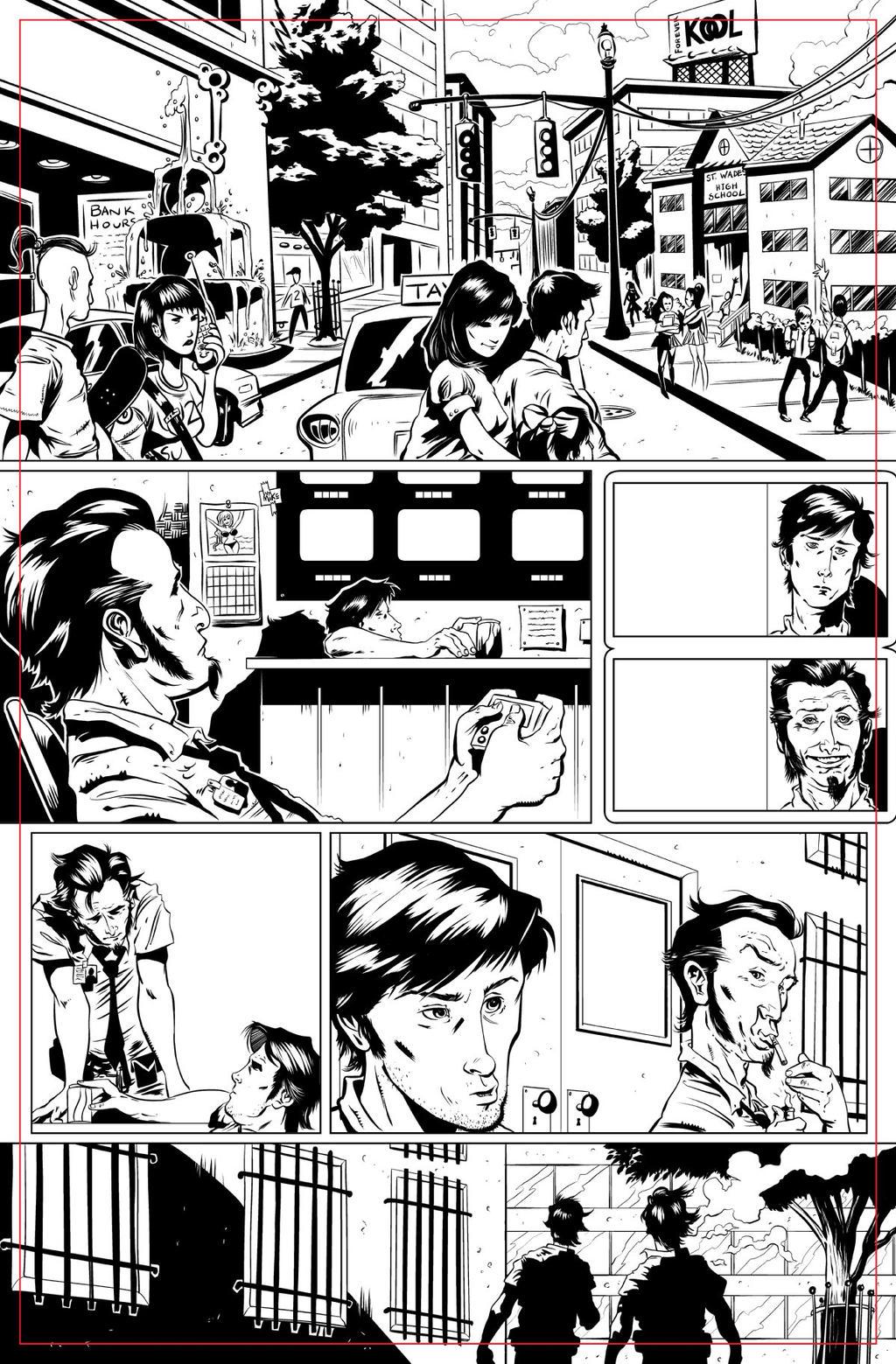 Deal Breaker pg 01 INKS by JeremiahLambertArt