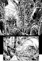 Aliens FCBD pg5 INKS by JeremiahLambertArt