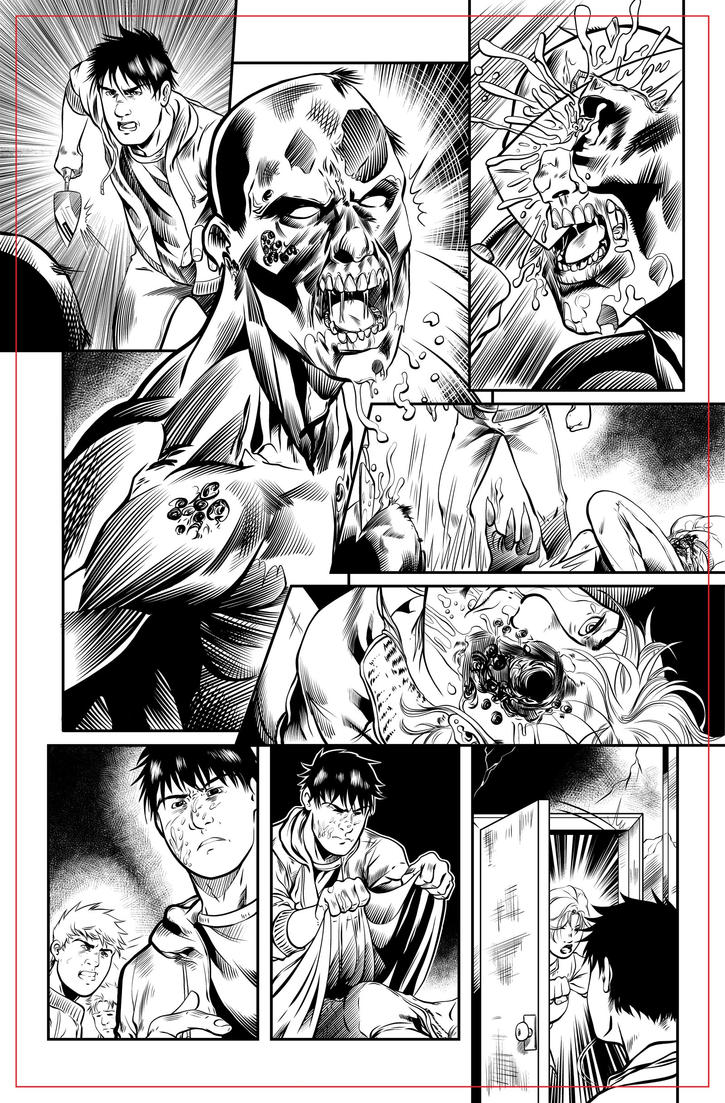 Hell House pg 45 INKS by JeremiahLambertArt