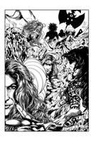 Unforgivable Poster 02 INKS by JeremiahLambertArt