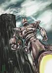 Iron Giant speed paint