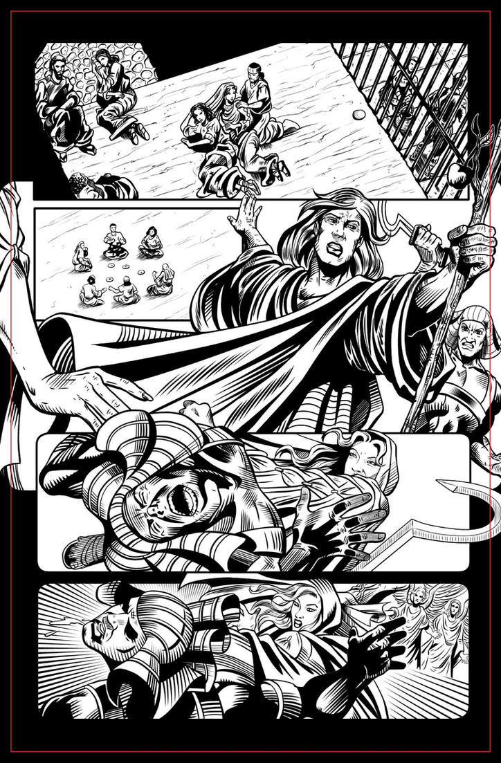 The Greatest Honor pg 02 INKS by JeremiahLambertArt