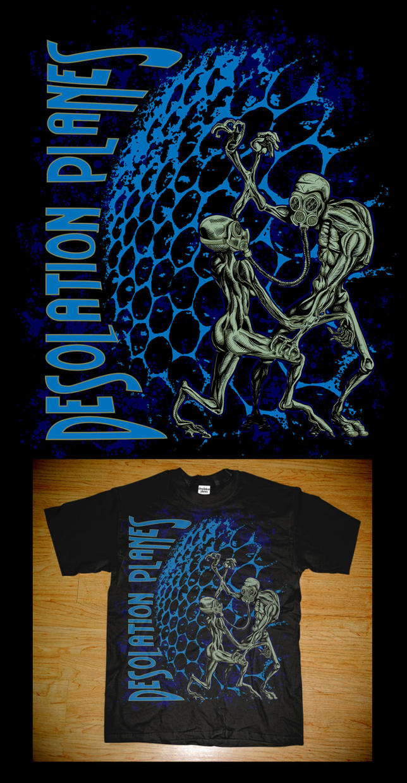 Desolation Planes - T-shirt by JeremiahLambertArt