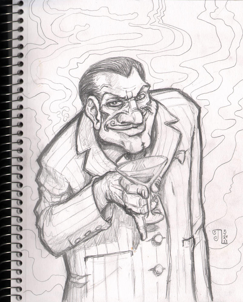 Sketch 05-29-2011 Creep by JeremiahLambertArt
