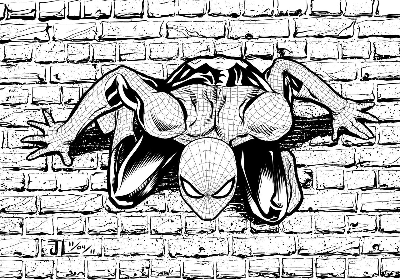 Spidey - NOV '11 Sketch a Day 4 by JeremiahLambertArt