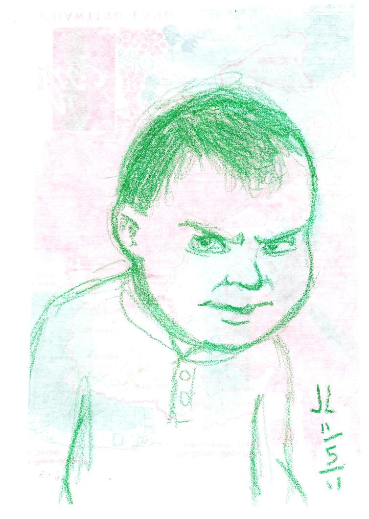 Ryan - NOV '11 Sketch a Day 5 by JeremiahLambertArt