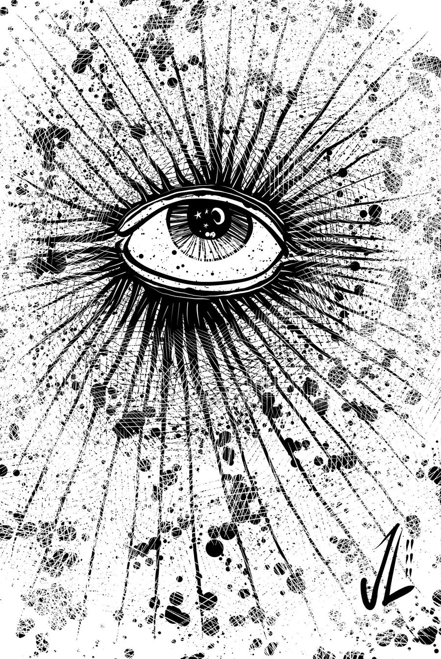 Eye - NOV '11 Sketch a Day 11 by JeremiahLambertArt