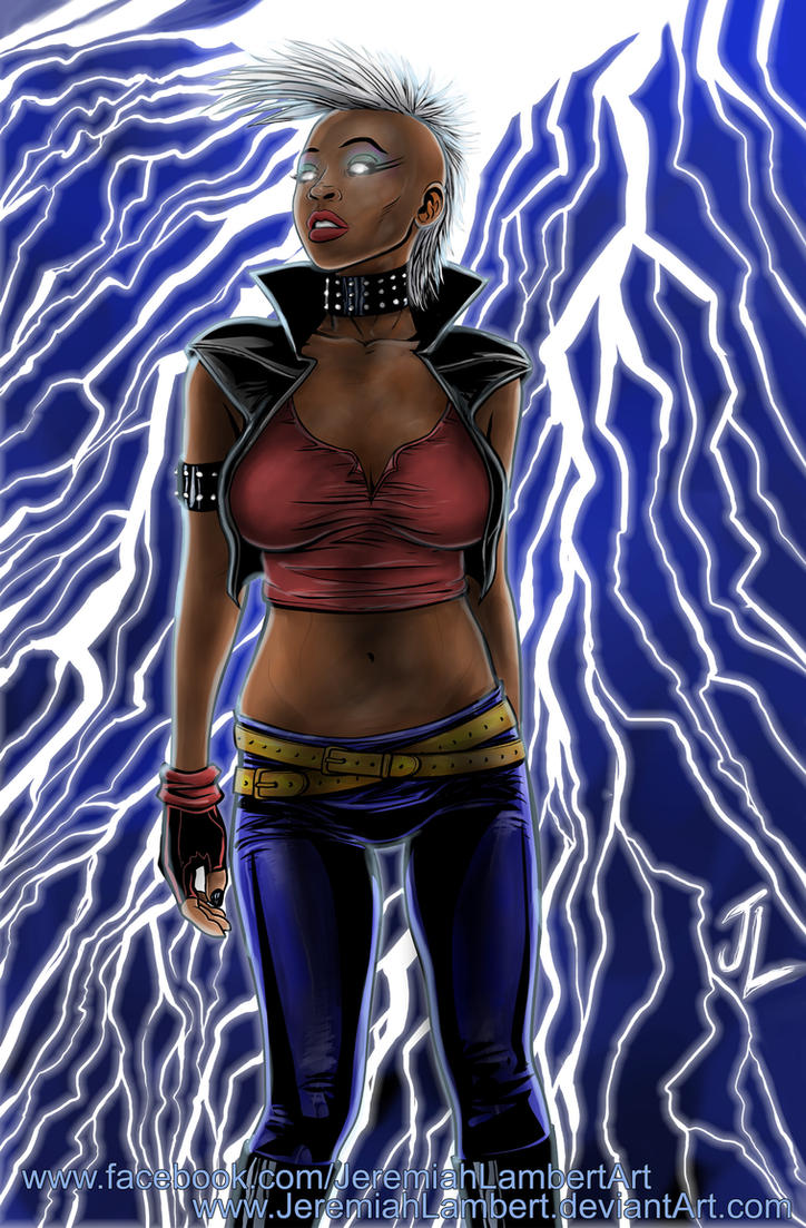 Punk Storm by JeremiahLambertArt
