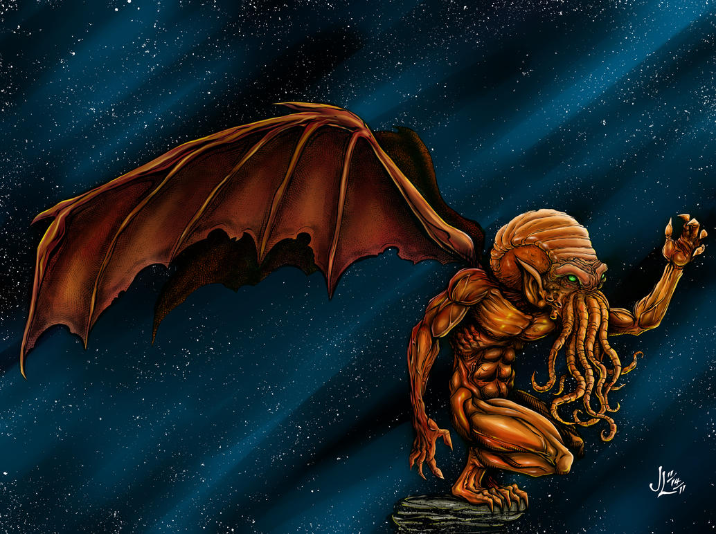 Cthulhu - COLOR by JeremiahLambertArt