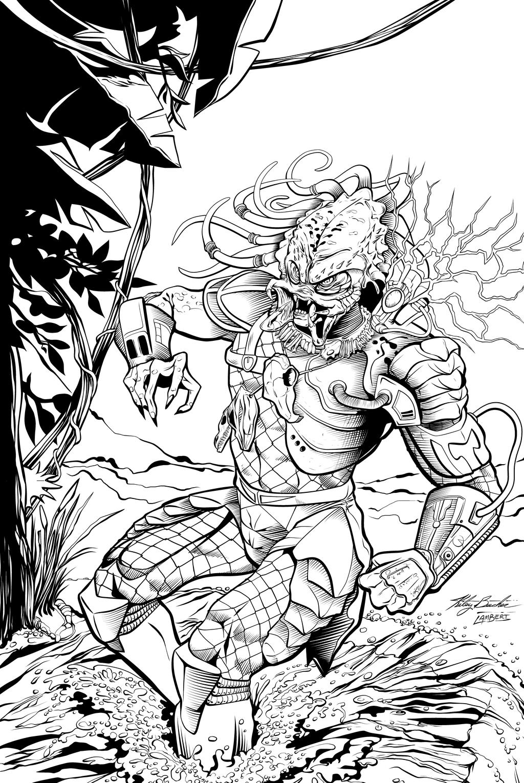 Predator by anasazi75 INKS by JeremiahLambertArt