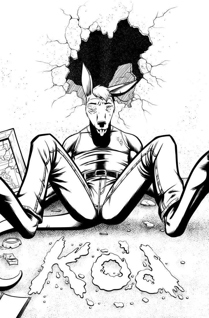 Jack Fowl pg 1 INKS by JeremiahLambertArt