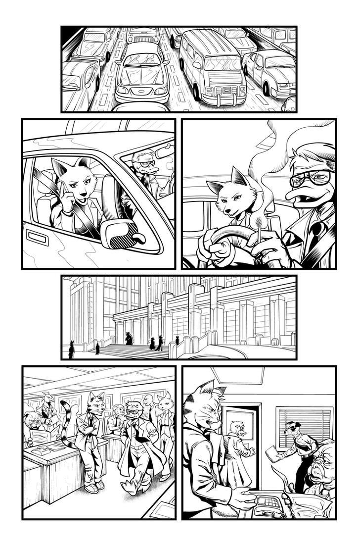 Jack Fowl pg 3 INKS by JeremiahLambertArt