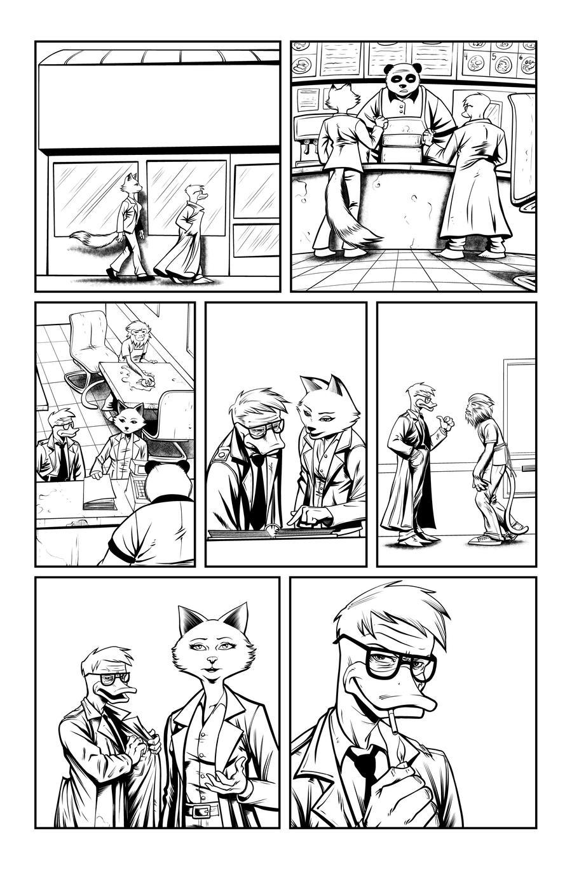 Jack Fowl pg 5 INKS by JeremiahLambertArt