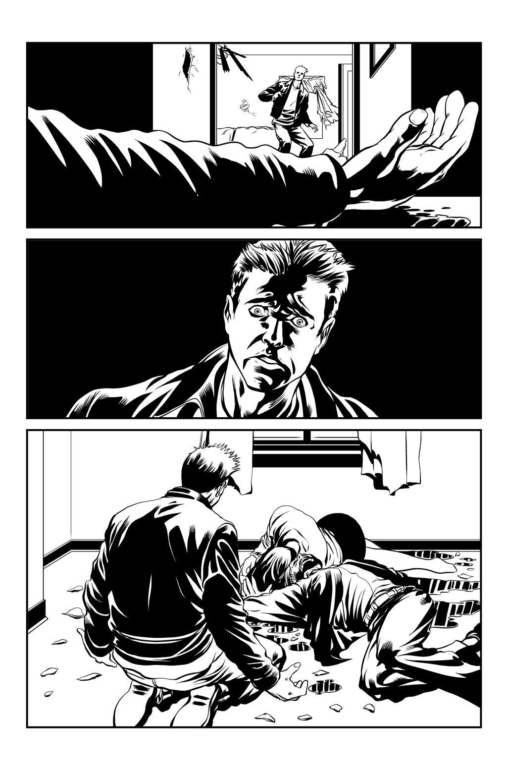 Chase pg 3 INKS by JeremiahLambertArt