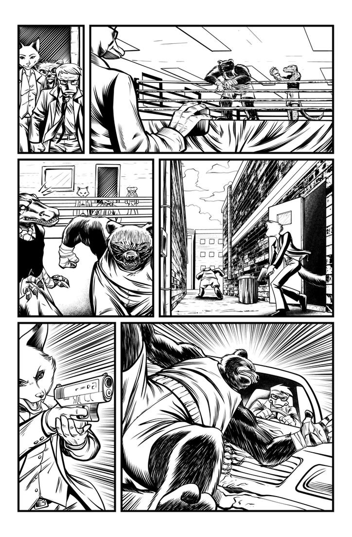 Jack Fowl pg 7 INKS by JeremiahLambertArt