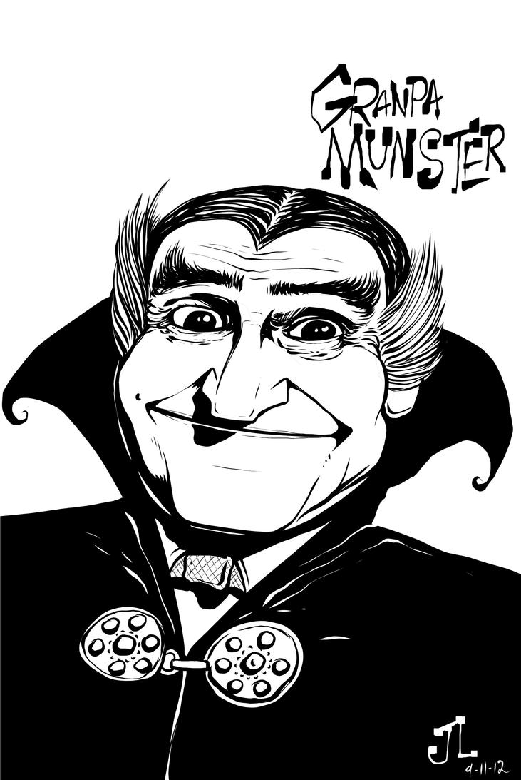 Granpa Munster by JeremiahLambertArt