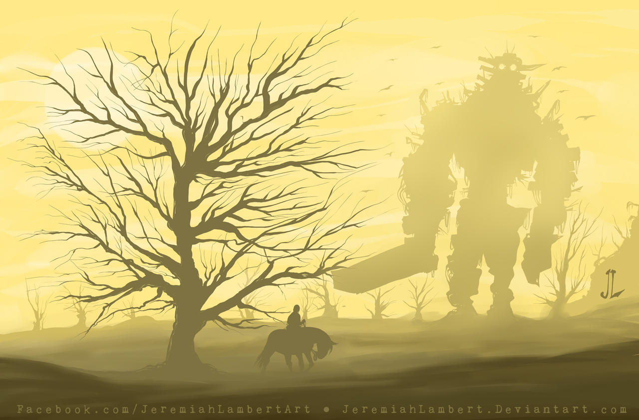 Shadow of the Colossus - JAN 2013 Art Jam by JeremiahLambertArt