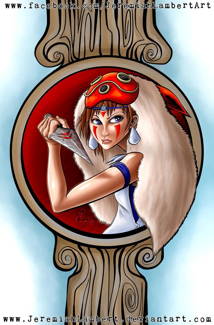 Princess Mononoke by JeremiahLambertArt