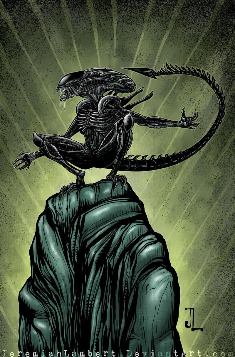 Alien by JeremiahLambertArt