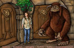 Ludo and Sarah from LABYRINTH